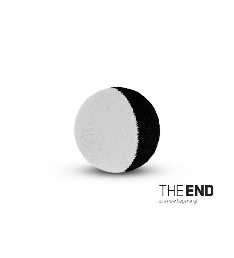 Delphin Pěnové Boilie The End Zig Rig Černo Bílé 10 ks 12 mm