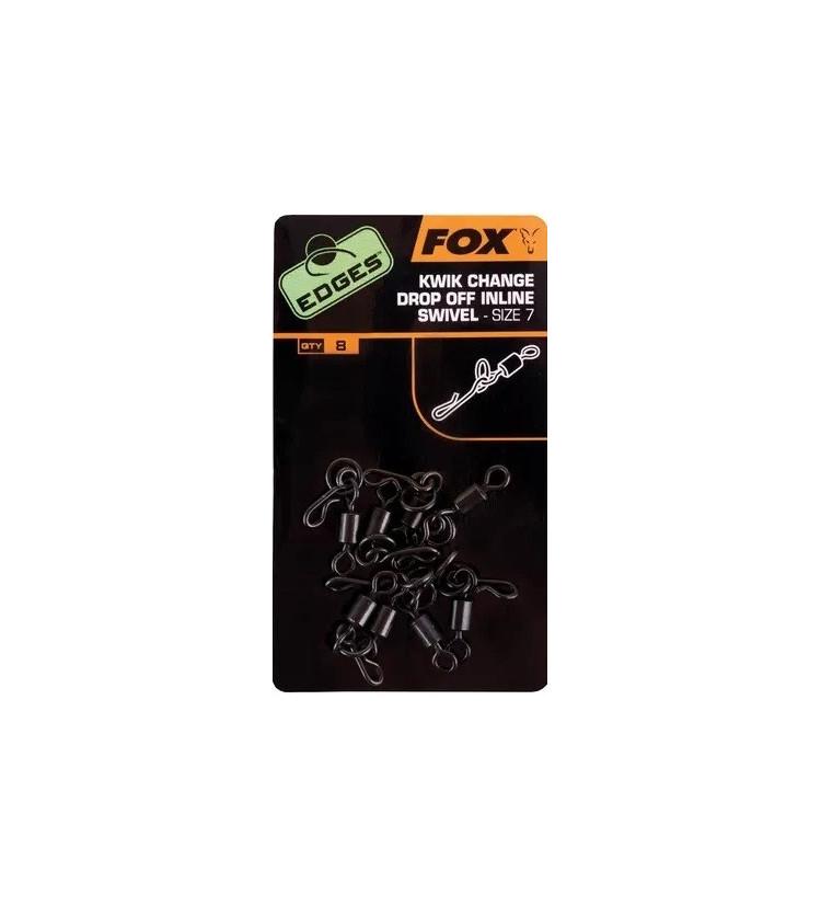 Fox obratlík s kroužkem a rychloklipem kwik change drop off Inline swivel vel.7