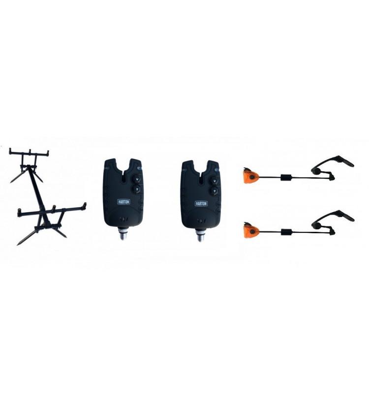 Akce Rod Pod Harton Black Stabil + 2x Hlásič Harton FMX + 2x kyvadlový swinger