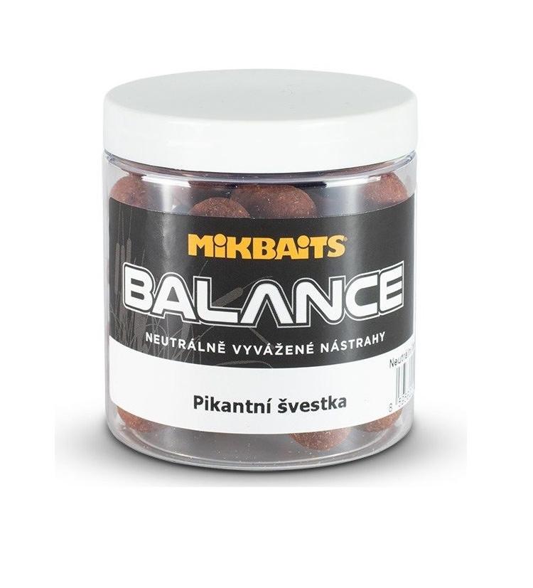 Mikbaits Boilie Spiceman Balance Pikantní Švestka 250 ml 16 mm