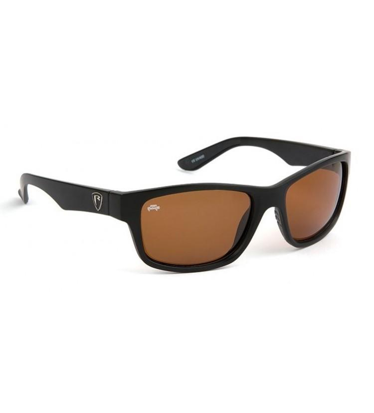 Fox Rage Polarizační Brýle Sunglasses Matt Black/Brown
