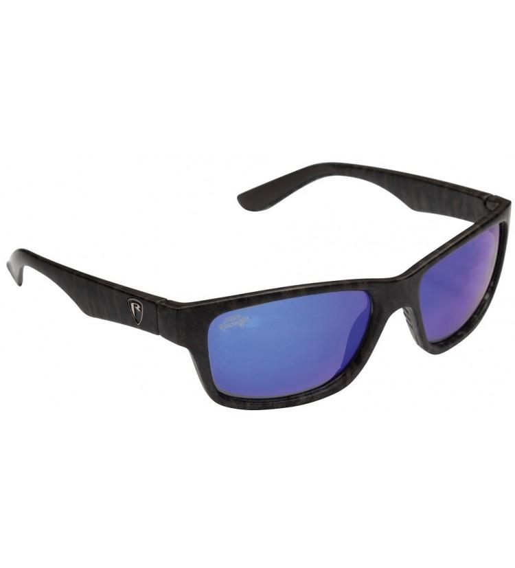 Fox Rage Brýle Camo Frame Grey Lens Mirror Blue