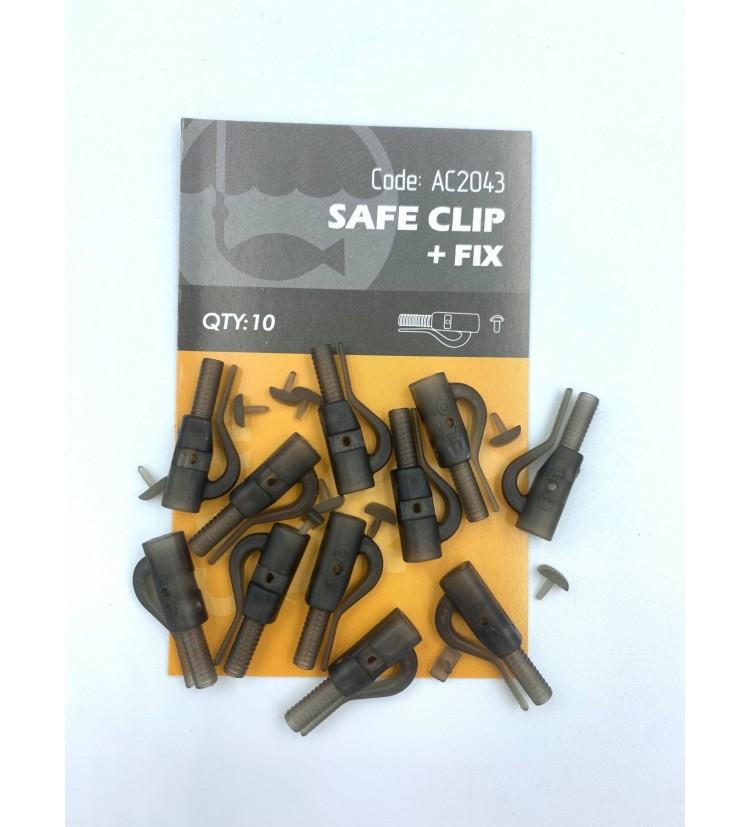 Life Orange závěska Safe klip + fix 10 ks