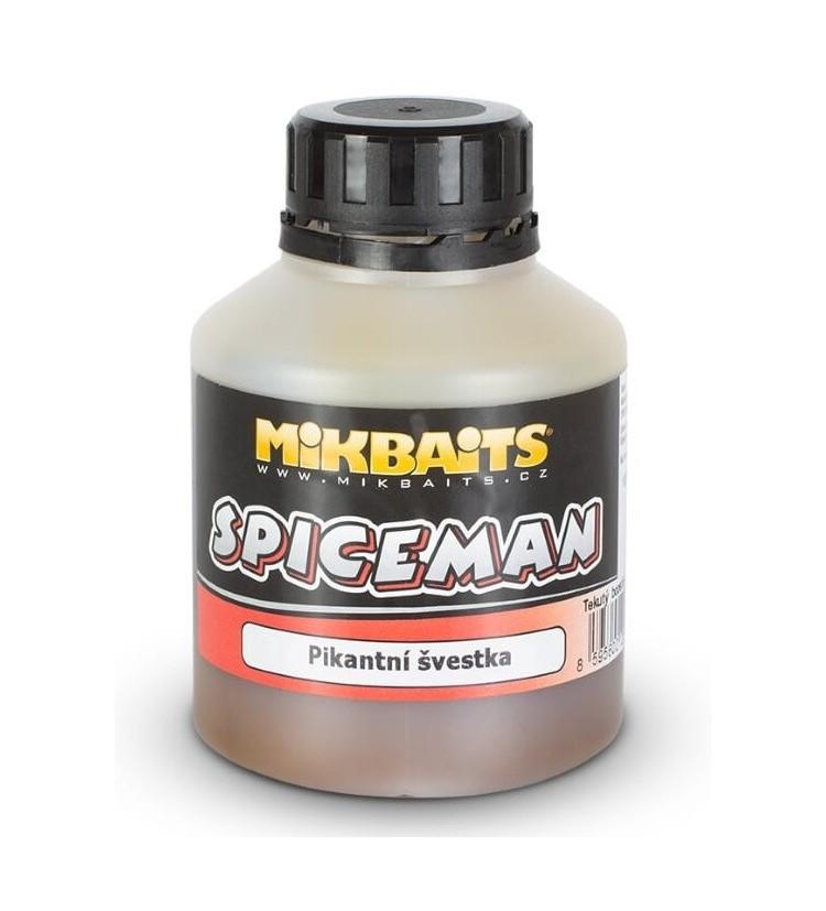 Mikbaits Booster Spiceman Pikantní Švestka 250 ml