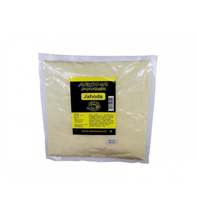 Carp Servis Václavík Aroma Powder - 200 g - Jahoda