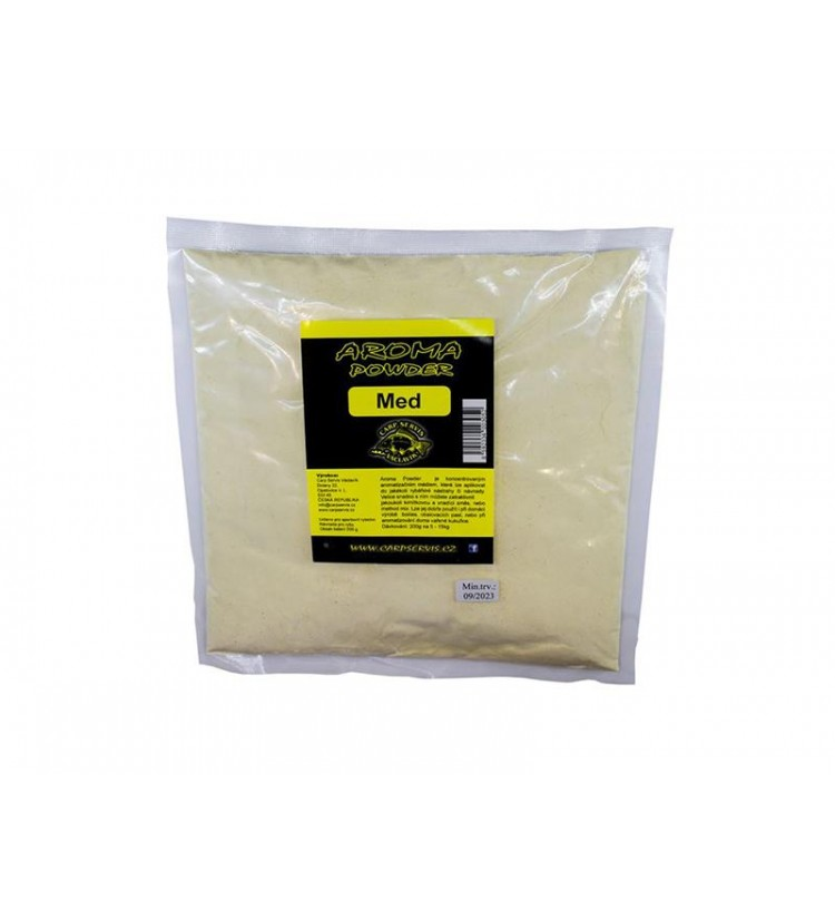 Carp Servis Václavík Aroma Powder - 200 g - Med