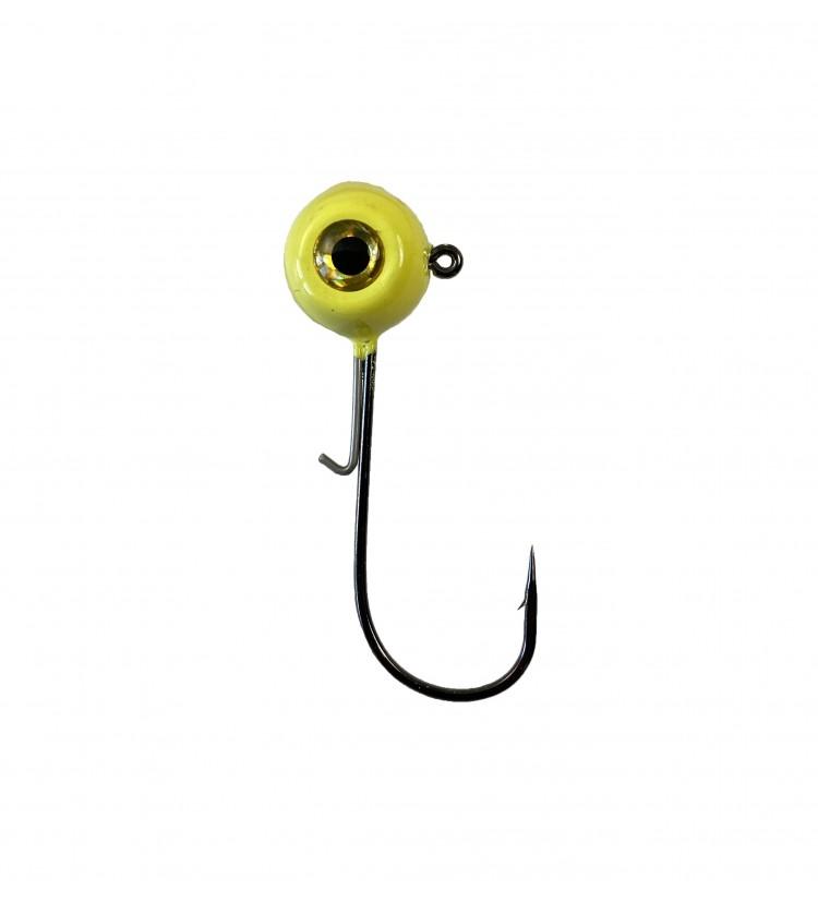 Harton jigová hlava Eyehead žlutá