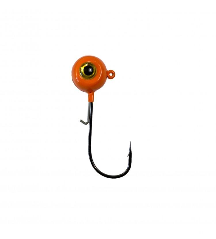 Harton jigová hlava Eyehead oranžová