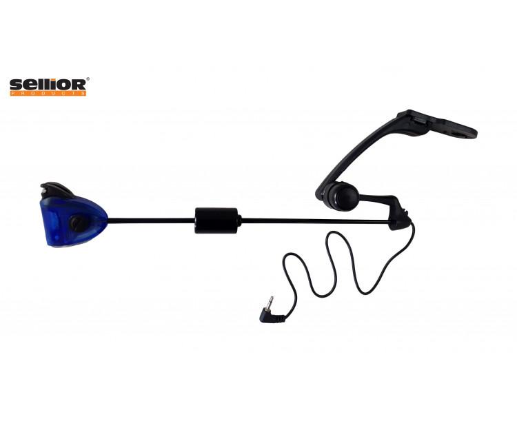 Indikátor záběru Sellior Carp Swing svítící - modrá