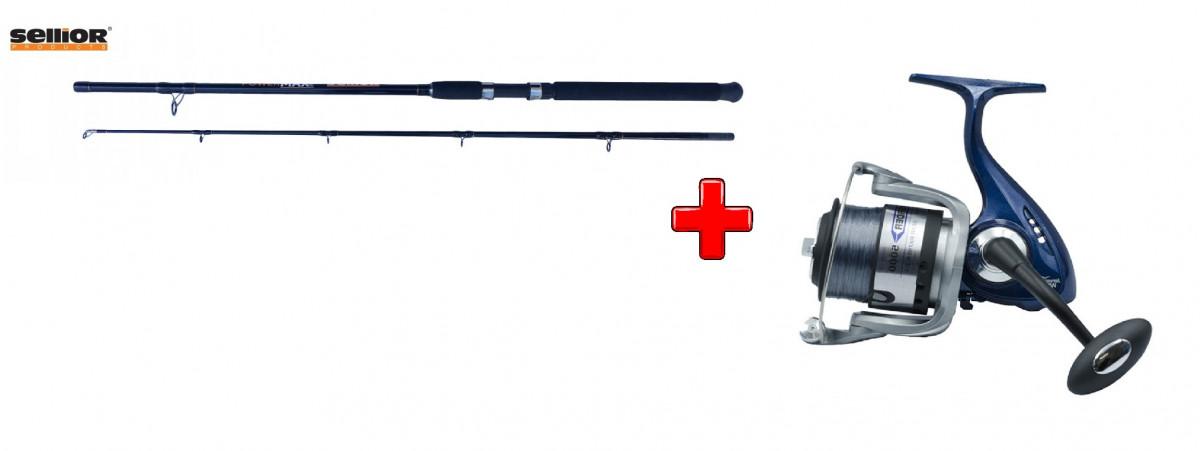 Akce Prut Sellior Powermax 2,7m 400-600g + naviják Rovex Crusader 8000
