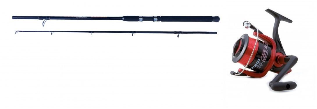 Akce Prut Sellior 2,4m 400-600g + naviják Shizuka SK5 80